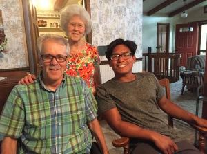 Michael, Mom and James