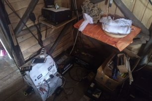 Radio room in Hobotongo